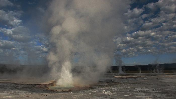 Yellowstone: neue Quelle entstanden